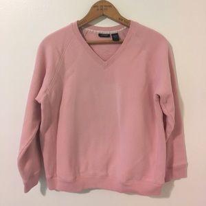 IZOD Pink Pullover V-Neck